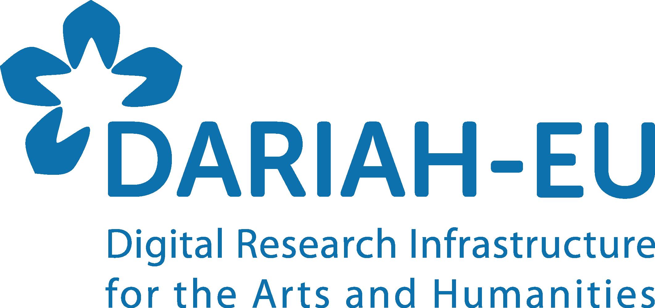 DARIAH EU logo with baseline 300DPI