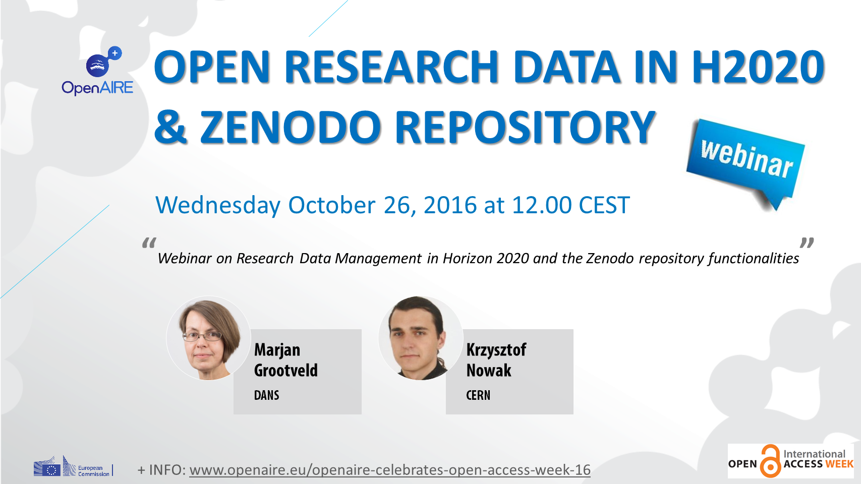 Open Research Data in H2020 an...