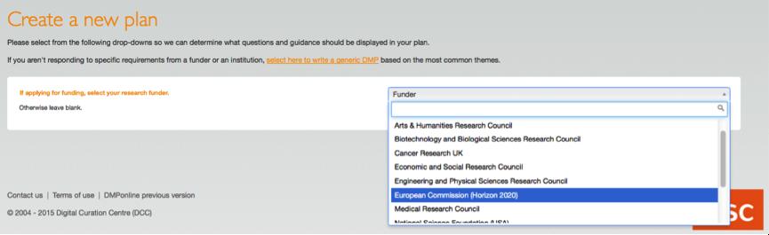 How to create a DMP Plan | Open Research Data Pilot