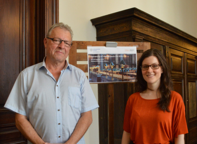 DOAJ strategy meeting at Vienna University Library - Interview with Lars Bjørnshauge