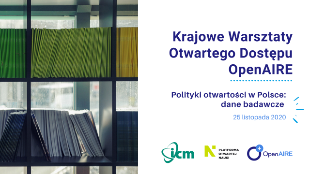 Research Data Management: OpenAIRE National Workshop in Poland (2nd part)