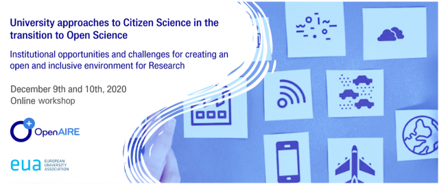 University approaches to Citizen Science in the transition to Open Science - Institutional opportunities and challenges for creating an open and inclusive environment for Research