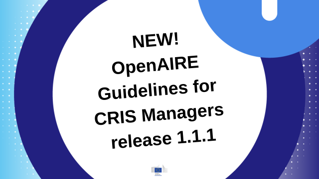 OpenAIRE Guidelines for CRIS Managers release 1.1.1