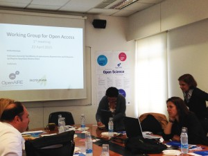 Cyprus working group for Open Access: setting up a national mandate and OA coordinating body