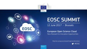 OpenAIRE's input statement at EOSC Summit, Brussels, 12 June 2017
