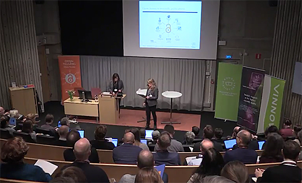 "Swedish OpenAIRE event ""Opportunities in Open Science"""