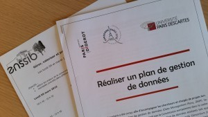 Training session on research data at the French national school for librarians