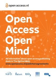 Open access publisher deals in The Netherlands