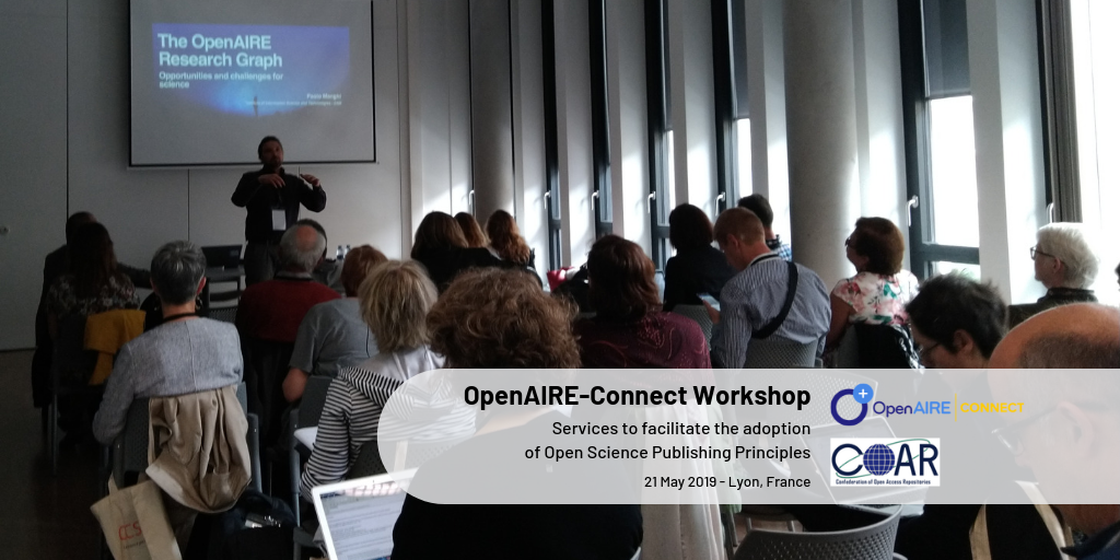 OpenAIRE-Connect Workshop - Facilitate research communities adoption of Open Science publishing principles: the role of repositories and the OpenAIRE-connect services
