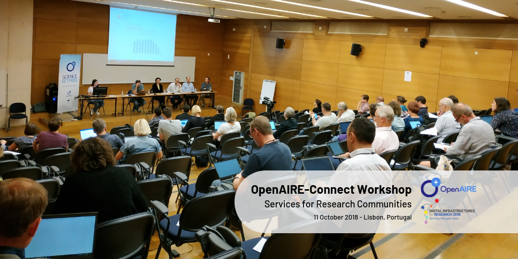 OpenAIRE-Connect workshop: OpenAIRE service for Research Communities (Open Science as-a-Service)