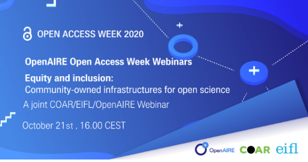 Equity and inclusion: community-owned infrastructures for open science