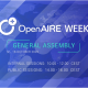 OpenAIRE Week! OpenAIRE on the European and global stage