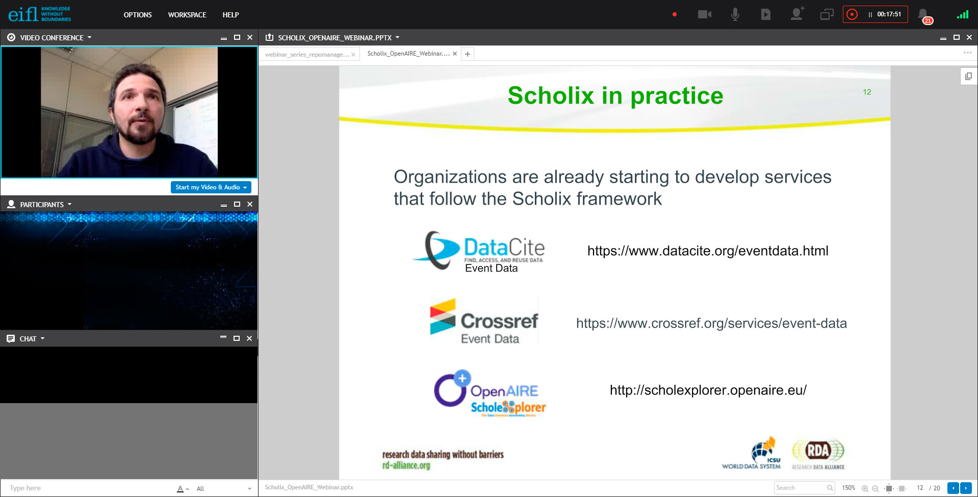 Scholix guidelines for data-literature integration: opportunities for OpenAIRE compatible repositories