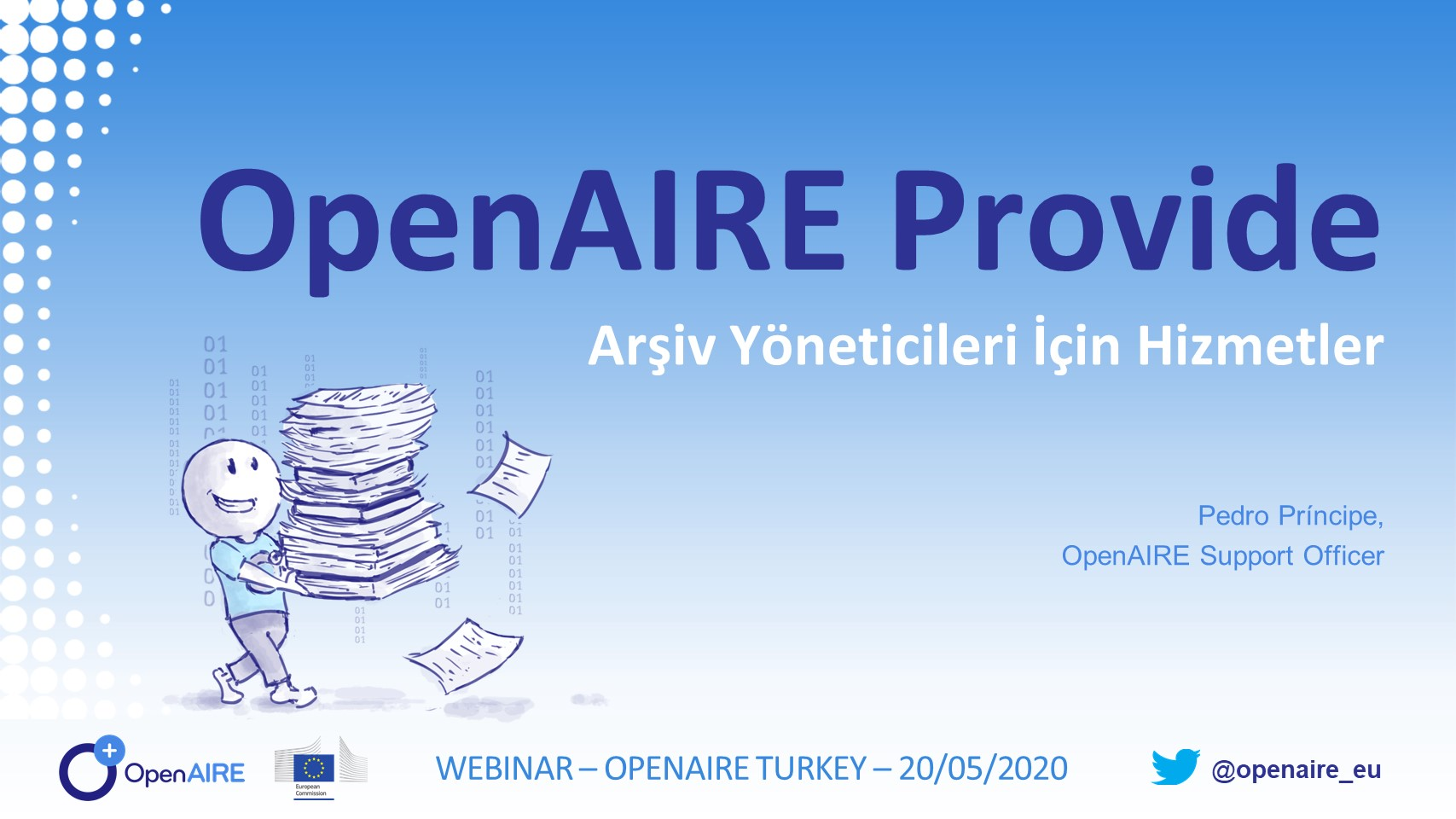 OpenAIRE PROVIDE Dashboard for Turkish repository managers