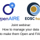 How to manage your data to make them Open and FAIR