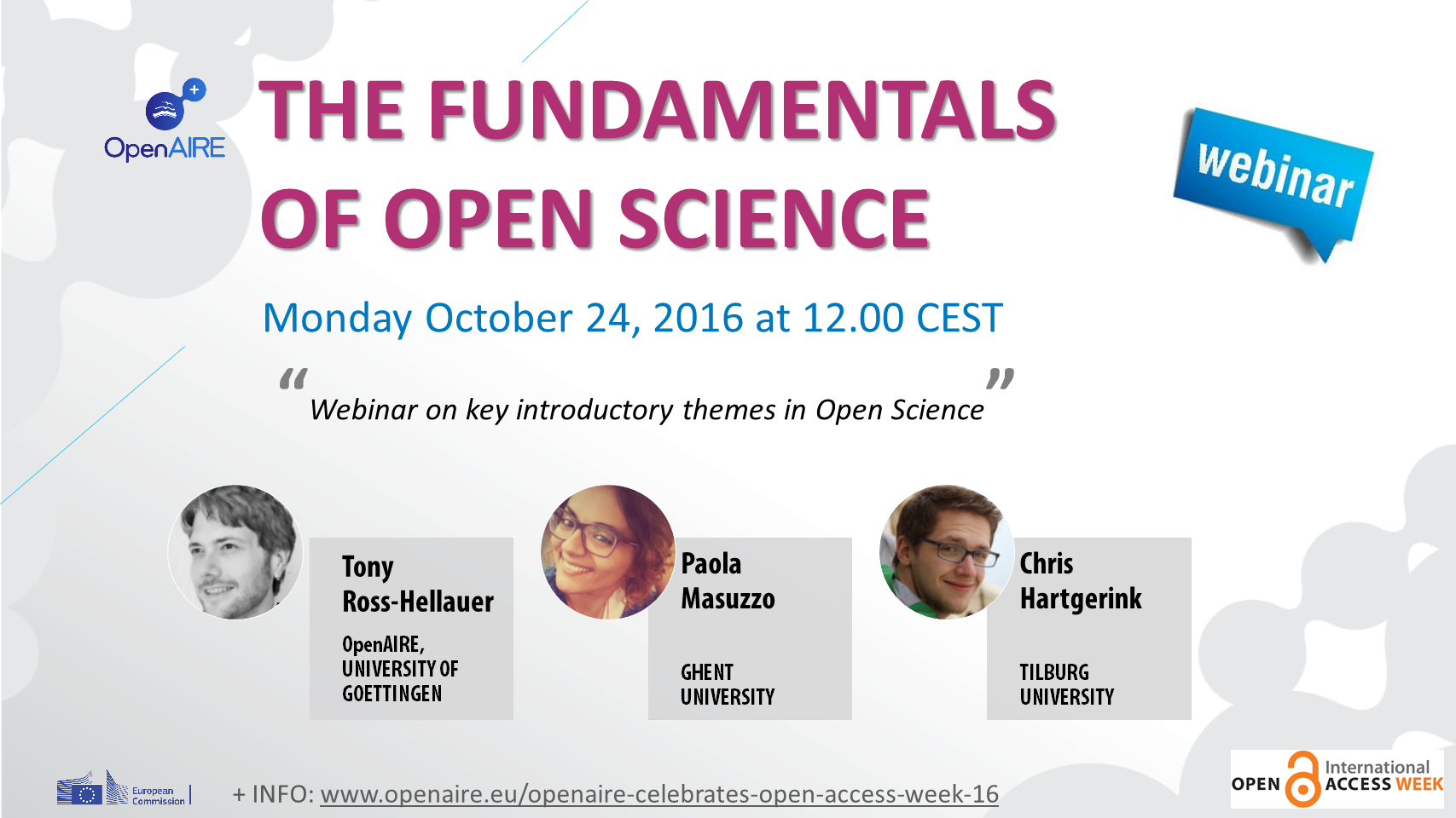 The fundamentals of Open Science