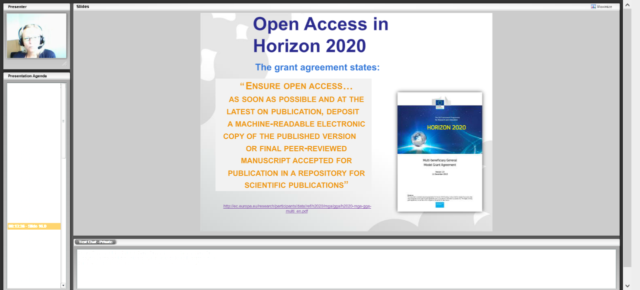 Open Access to Publications in H2020